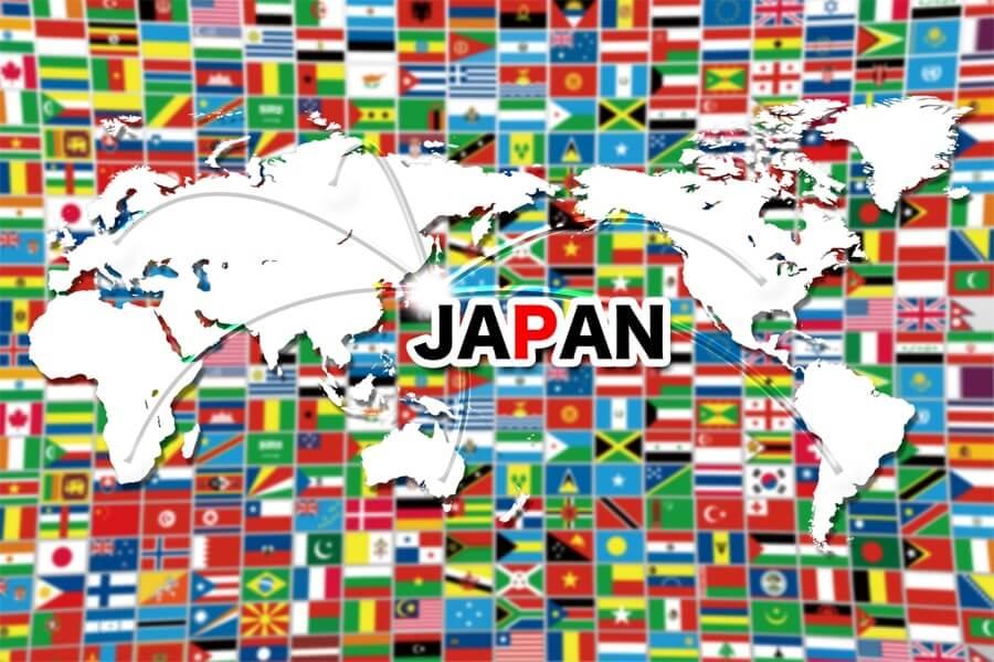 日本に集まる外国人
